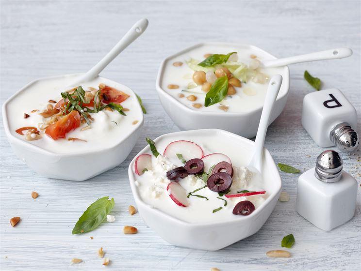 Itse tehty suolainen jogurtti