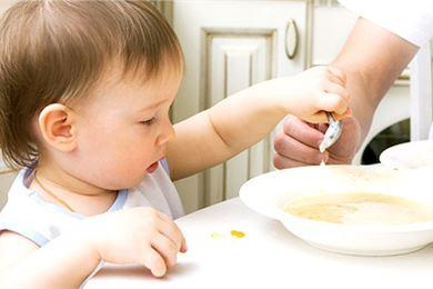 Vältettävät ruoka-aineet alle 1-vuotiaan ruokavaliossa