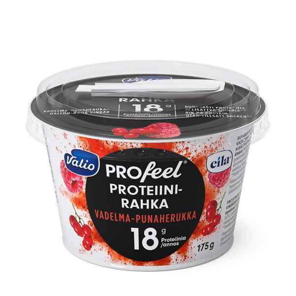 Valio PROfeel® proteiinirahka sokeroimaton vadelma-punah laktoositon