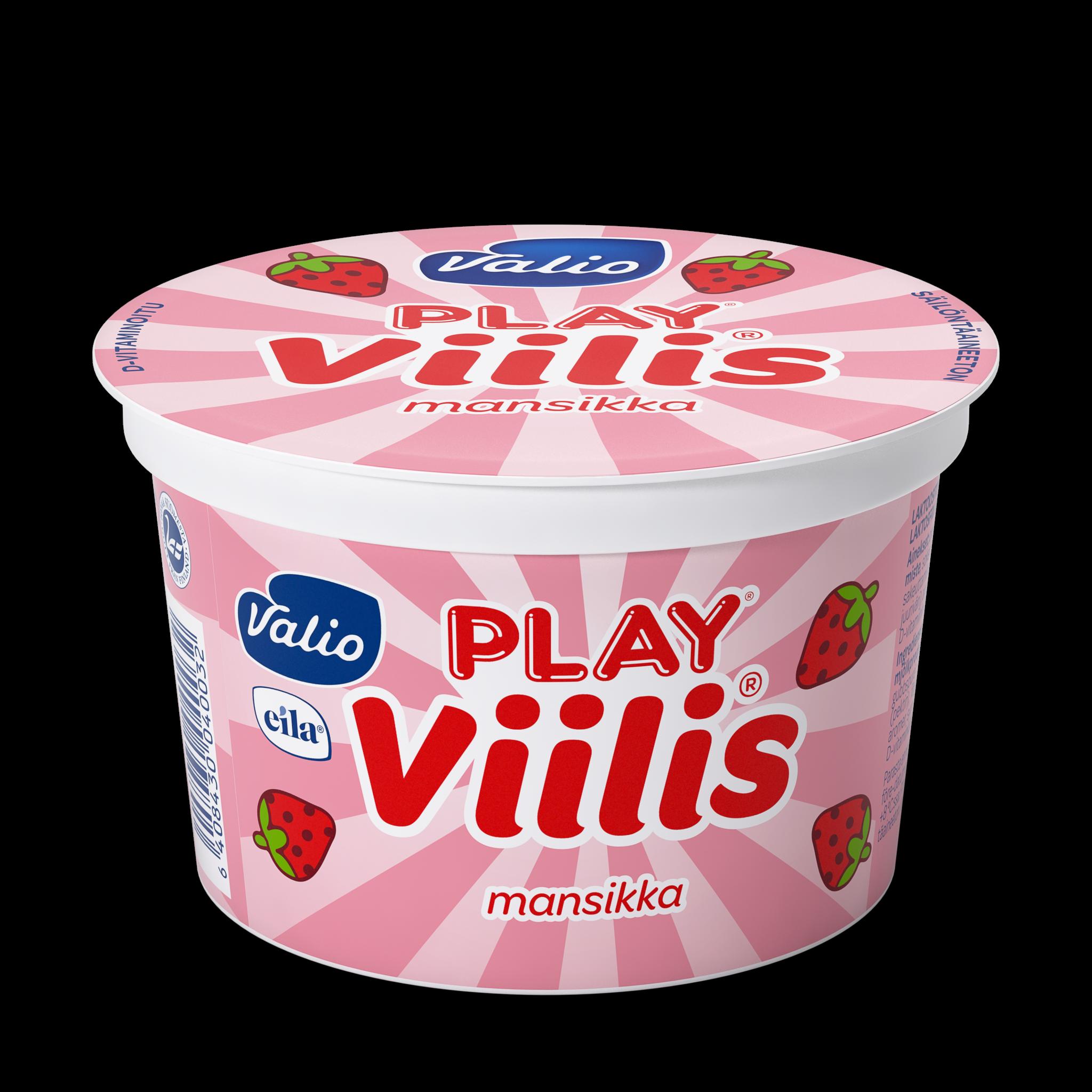 Valio Play® Viilis® mansikka laktoositon