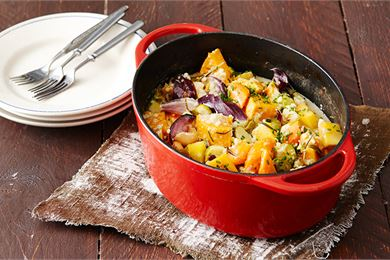 Väriä lautaselle: karkota kaamos marjoilla ja kasviksilla