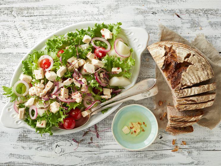 Kesän helpoin salaatti
