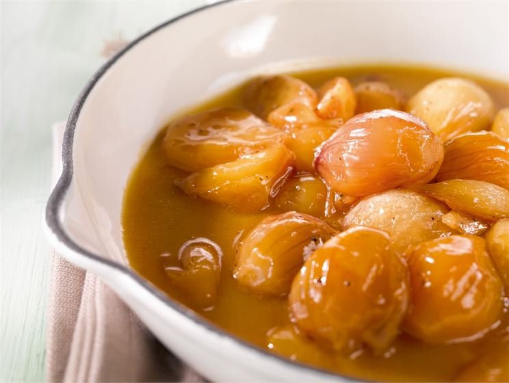 Hunajaiset pannusipulit