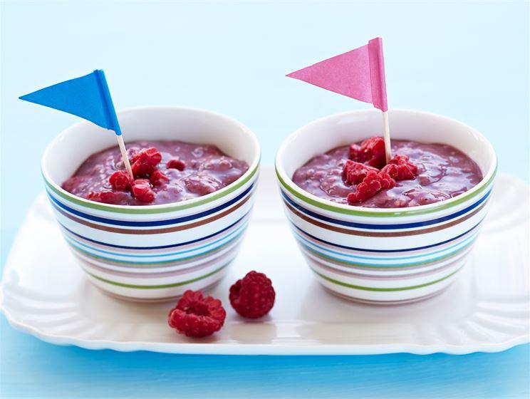 Marjainen jogurtti-tuorepuuro