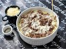 Sekoita Koskenlaskija Ruoka ja maito, esim. käyttämälläsi paistinpannulla. Valuta se vuokaan.
