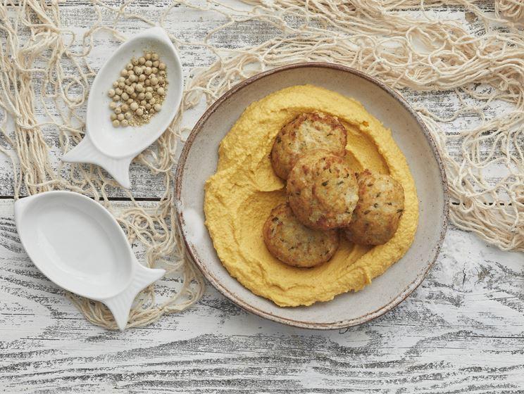 Pähkinäinen bataattidippi