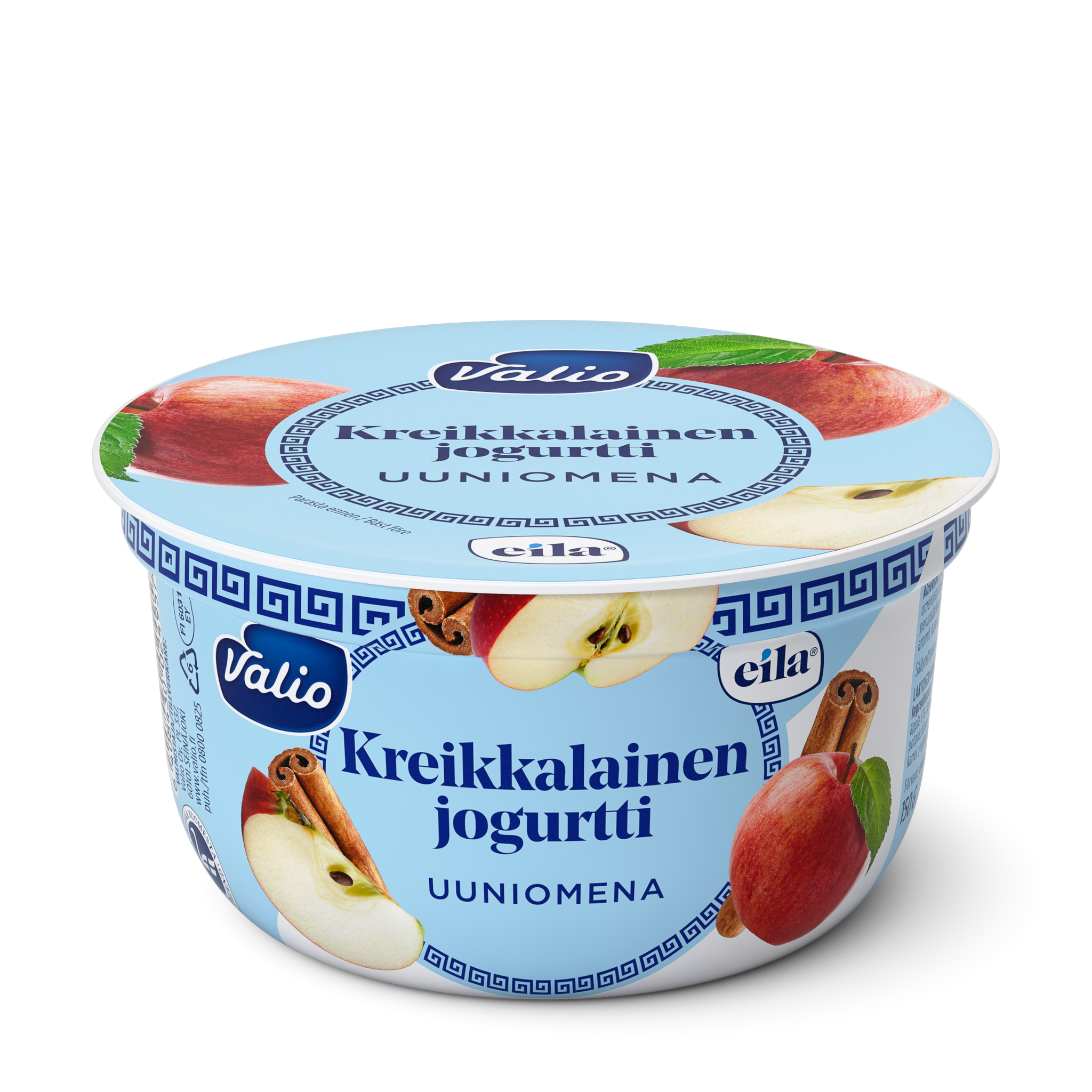 Valio kreikkalainen jogurtti uuniomena laktoositon