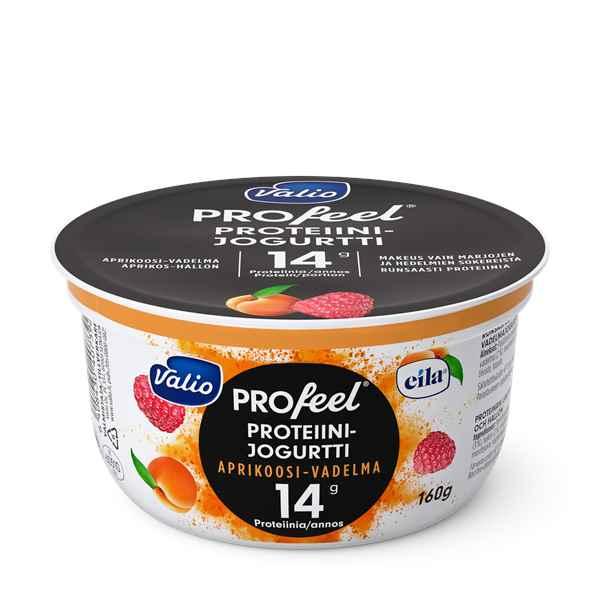 Valio PROfeel® proteiinijogurtti aprikoosi-vadelma laktoositon