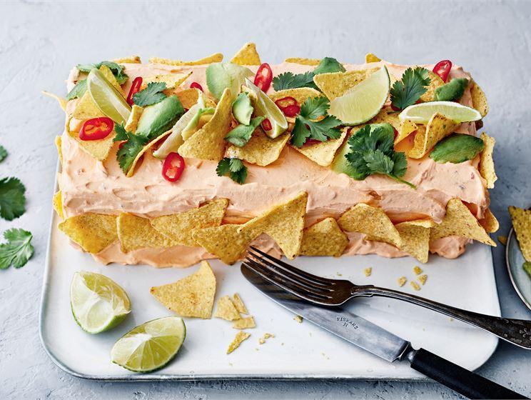 Meksikolainen voileipäkakku