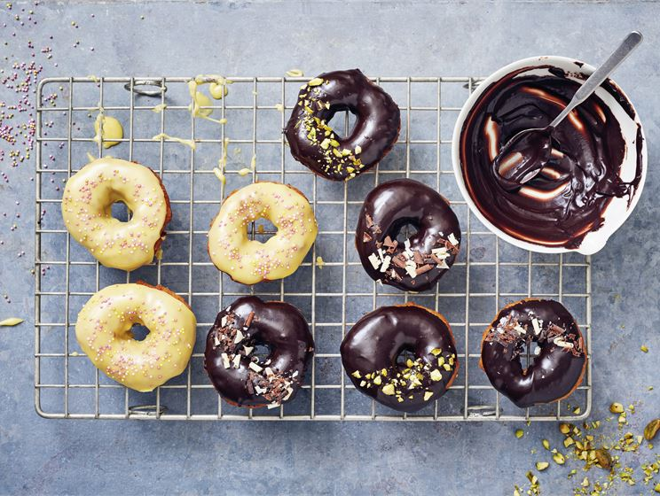 Kuorrutetut donitsit