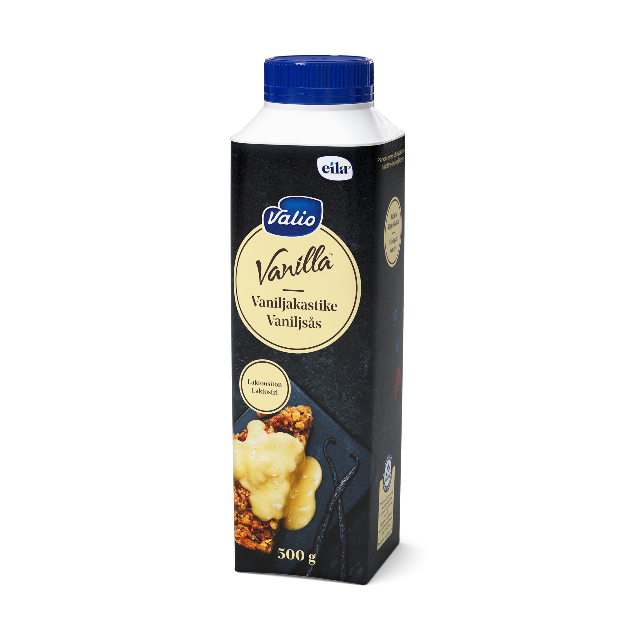 Valio Vanilla™ vaniljakastike laktoositon