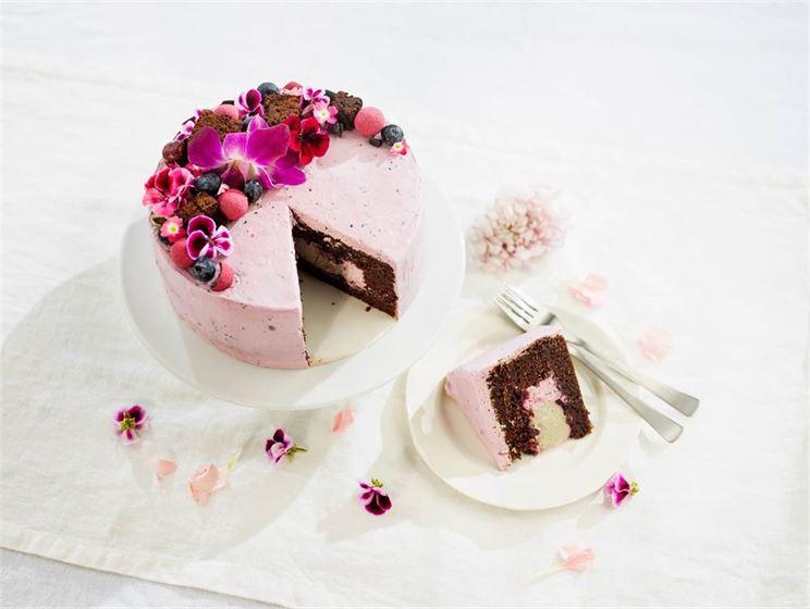 Choklad- och drottningtårta