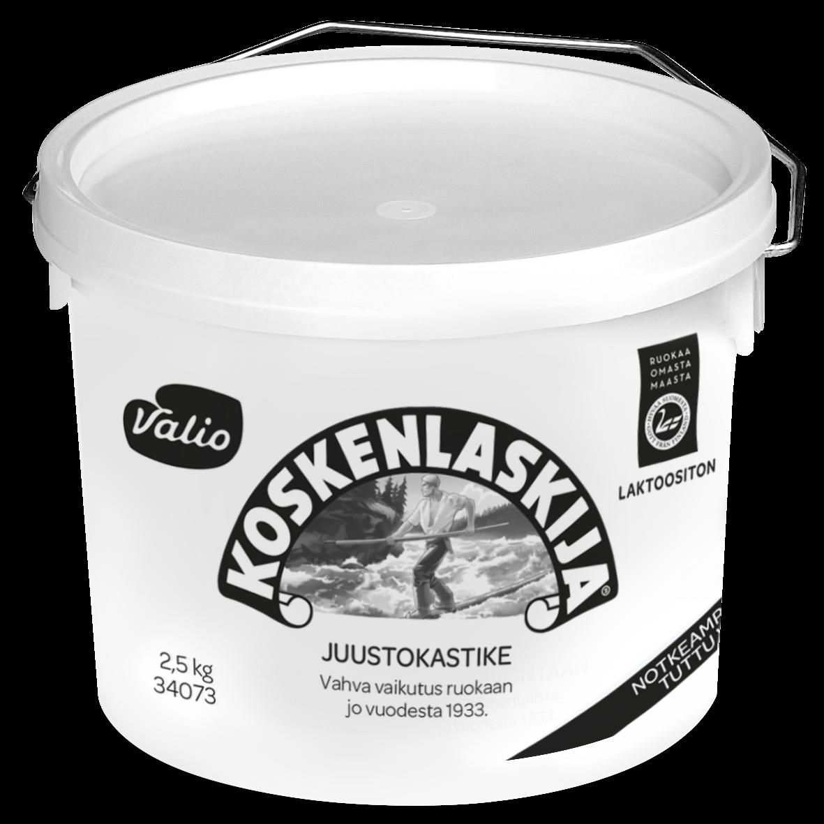 Valio Koskenlaskija® juustokastike laktoositon