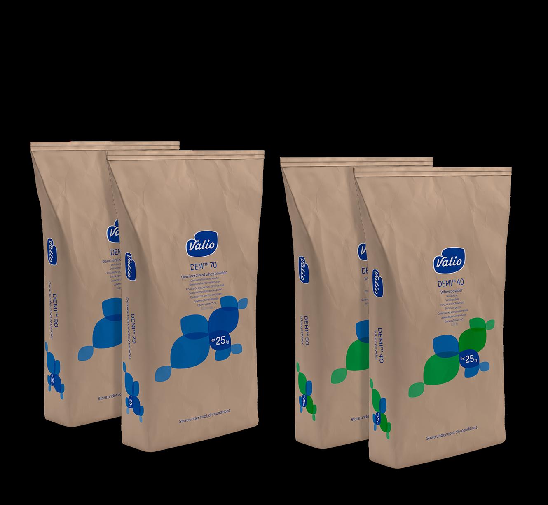 Valio Demi™ demineralized whey powders