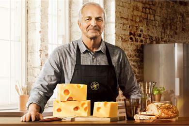 Tapani Lahnalampi antaa juustomestarille kasvot