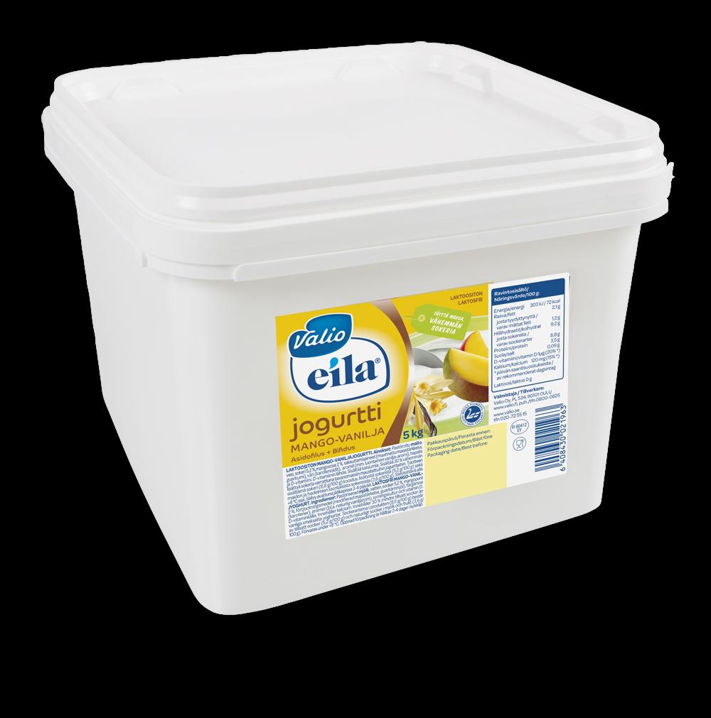 Valio Eila® laktoositon jogurtti vaihtuva maku