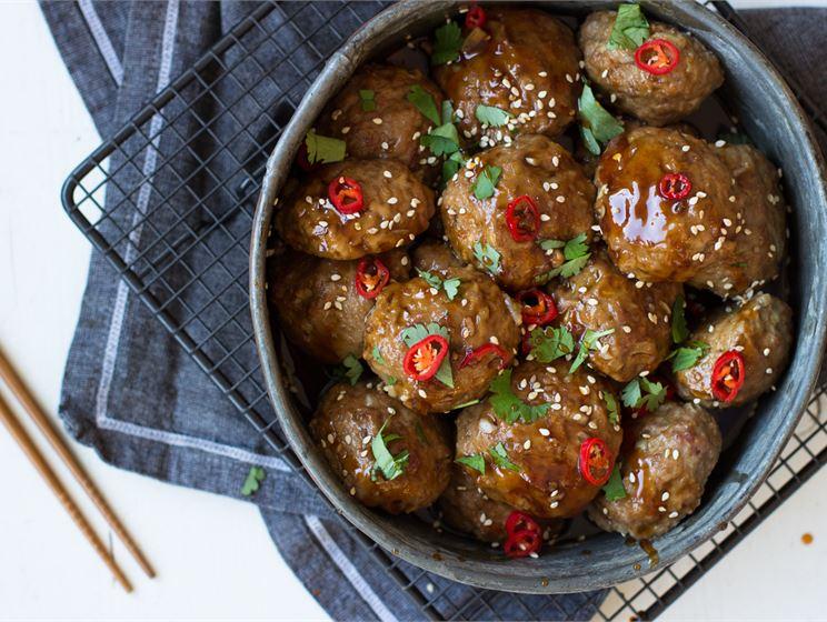 Korealaiset lihapullat