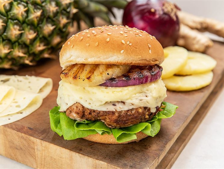 Teriyaki Turkey Burger
