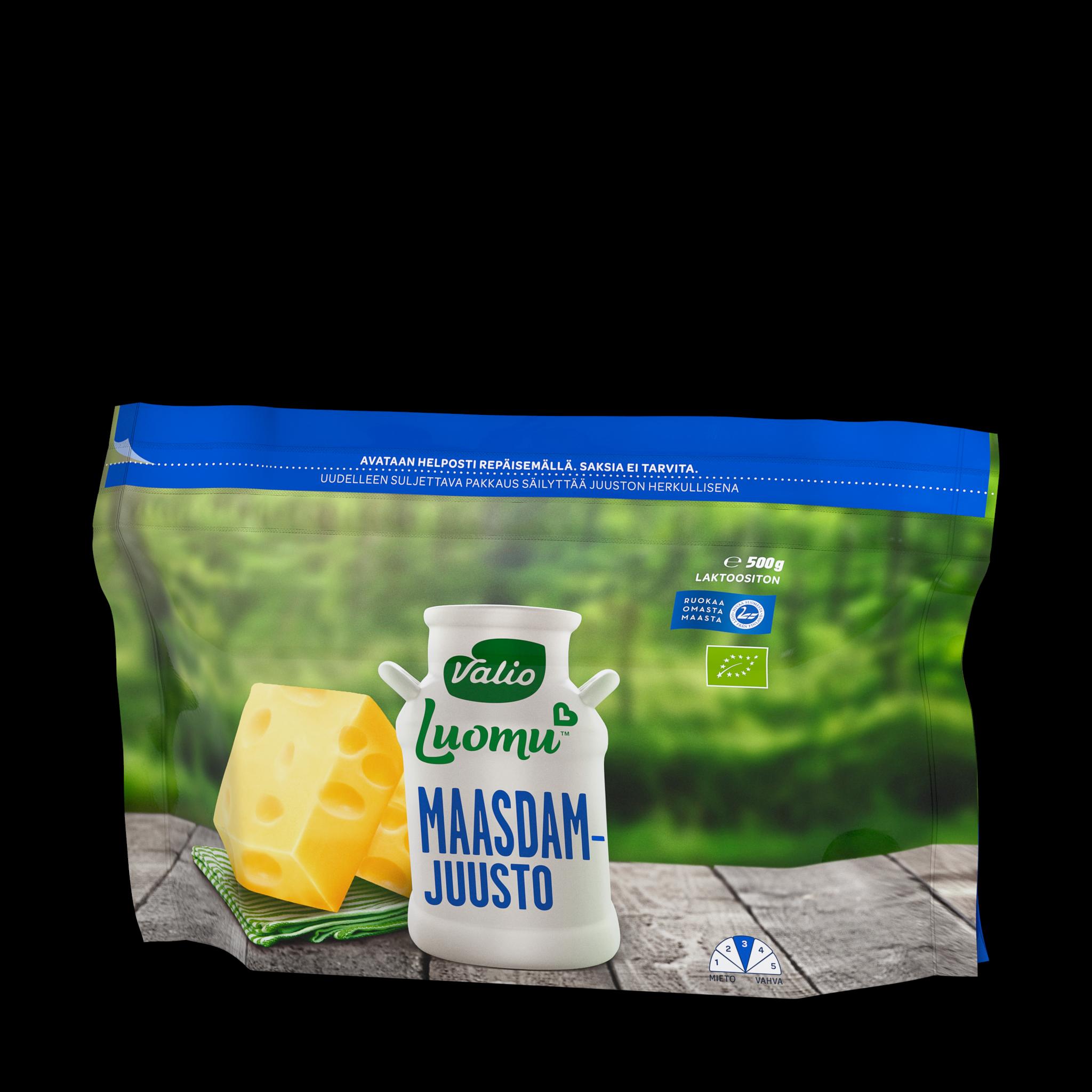 Valio Luomu™ maasdam juusto
