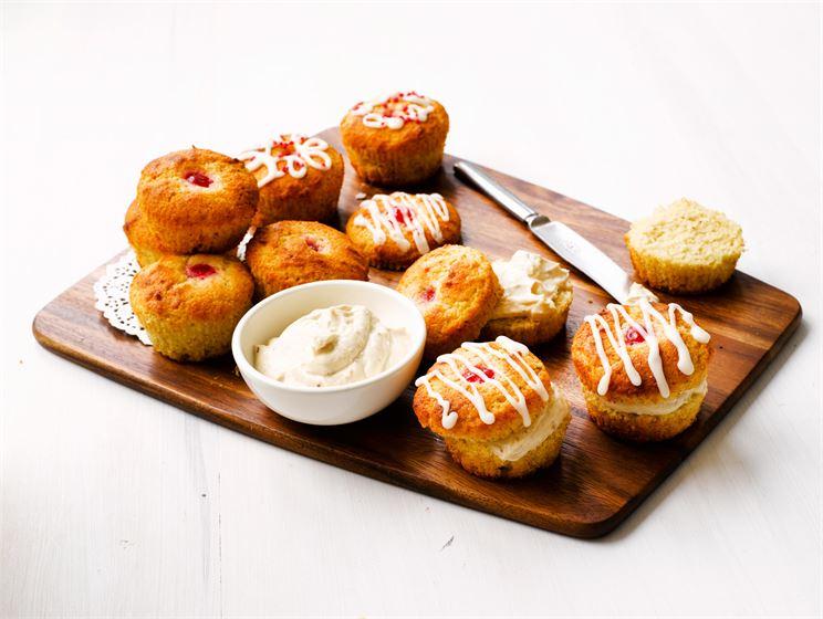 Täytetyt muffinit