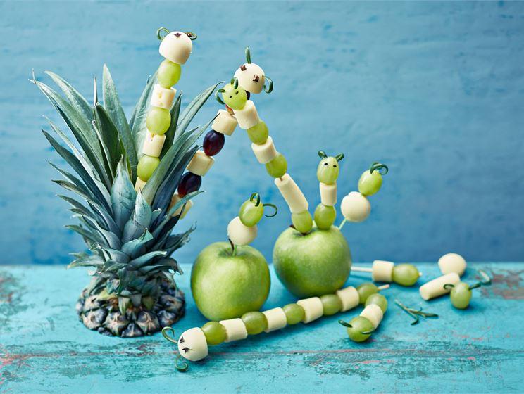 Juusto-hedelmätoukat