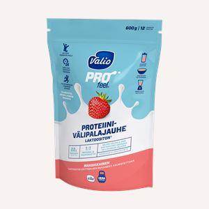 Valio PROfeel® proteiinivälipalajauhe mansikkainen laktoositon