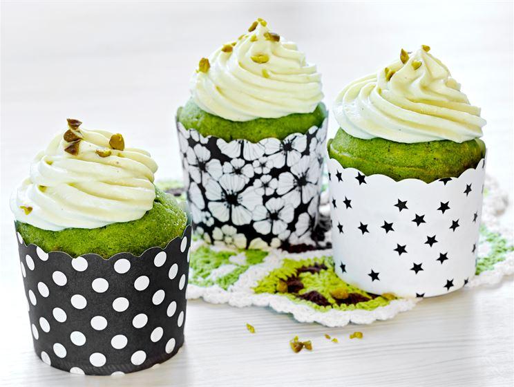 Vihreät banaanimuffinsit