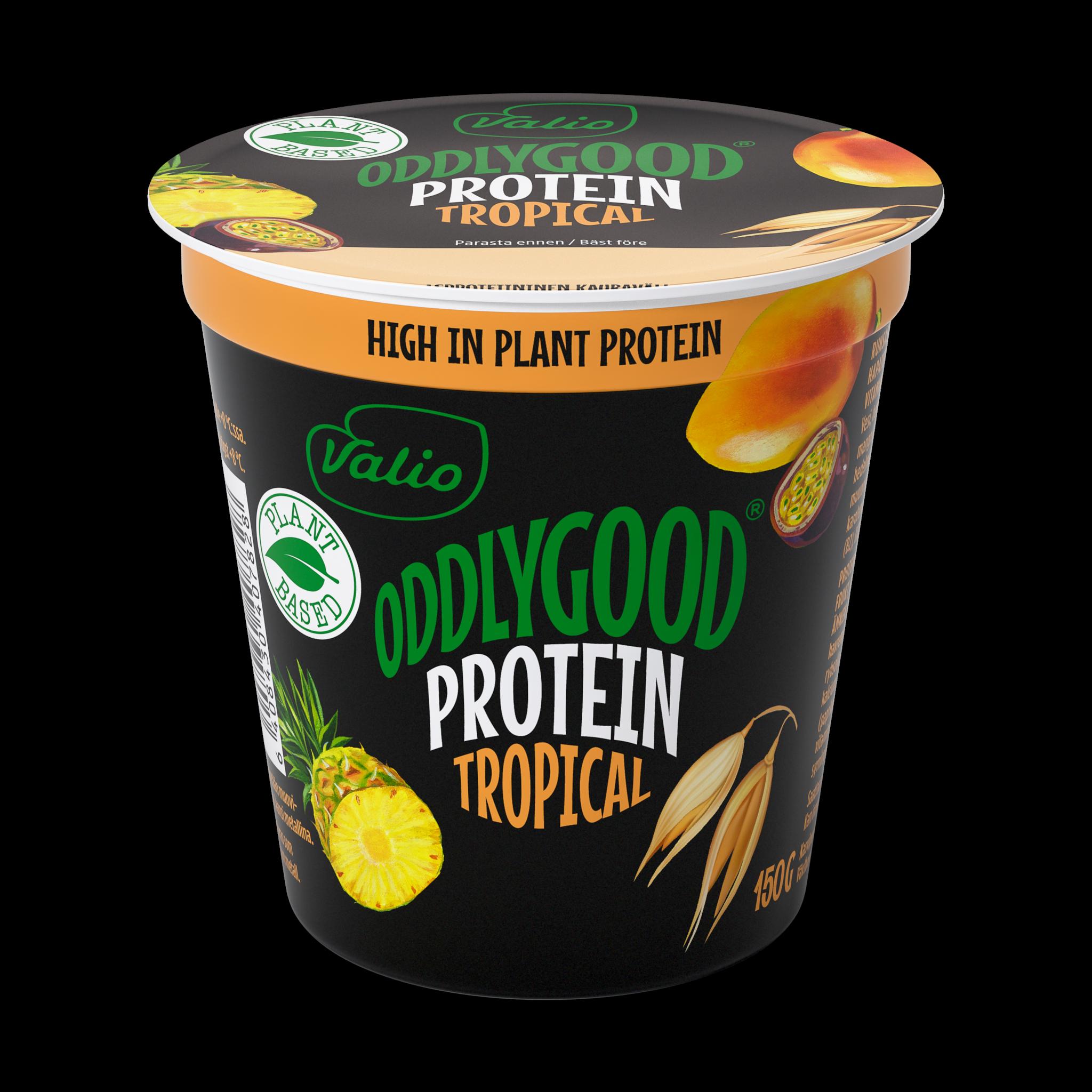 Valio Oddlygood® proteiinivälipala Tropical
