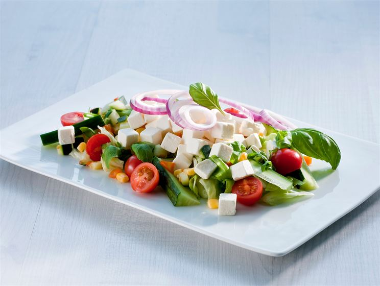 Helppo kreikkalainen salaatti