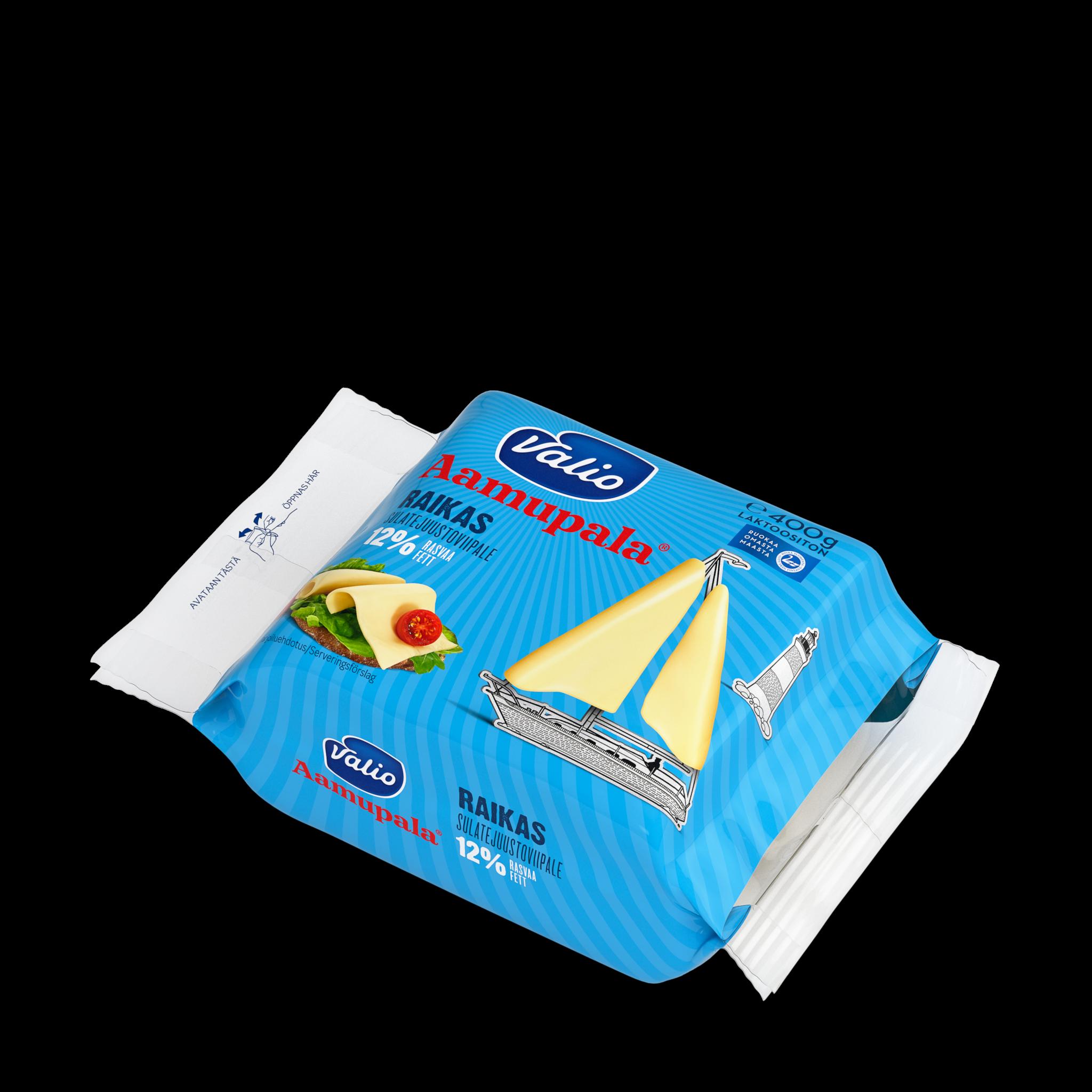 Valio Aamupala® raikas 12 % sulatejuustoviipale