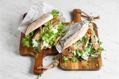 Pitaleipä ja uuniperuna – kaksi tuotetta, monta käyttömahdollisuutta
