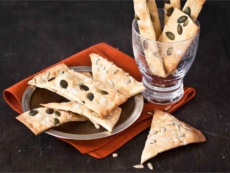 Liemessä Jennin suolakeksit eli turkkilaiset lavash-leivät