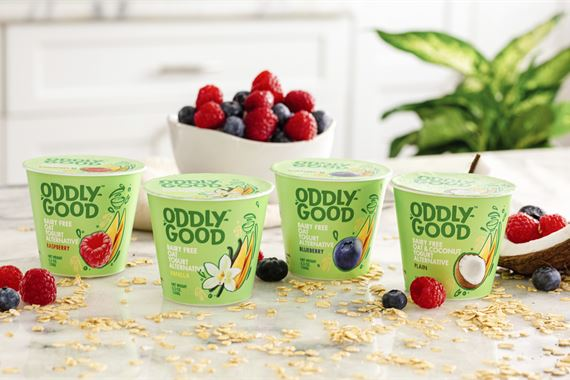 An Oddlygood™ Oat Yogurt is Heading to the US