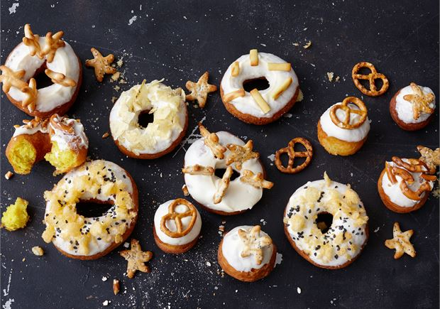 Suolaiset donitsit